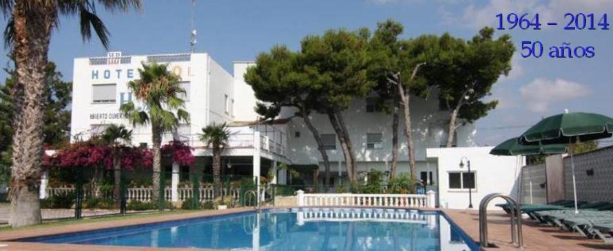 Hotel Sol, Benicarló, España, 50 años