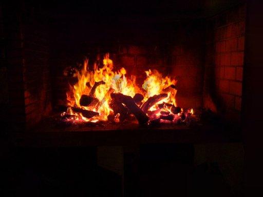 El fuego de la Barbacoa del Hotel Sol, Benicarló, de Francisco Rosado