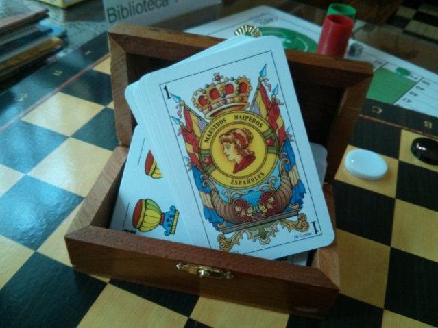 Hotel Sol tiene a su disposición juegos de mesa. Foto de Dora Blasco