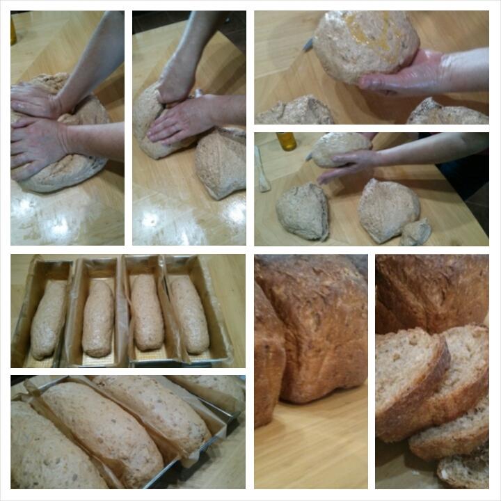 Cada día elaboramos nuestro pan de cereales con harina de espelta integral, es una delicia que podrás degustar en los desayunos del Hotel Sol de Benicarló