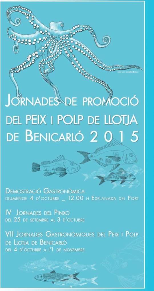 Jornades de Peix i Polp 2015 a Benicarlo